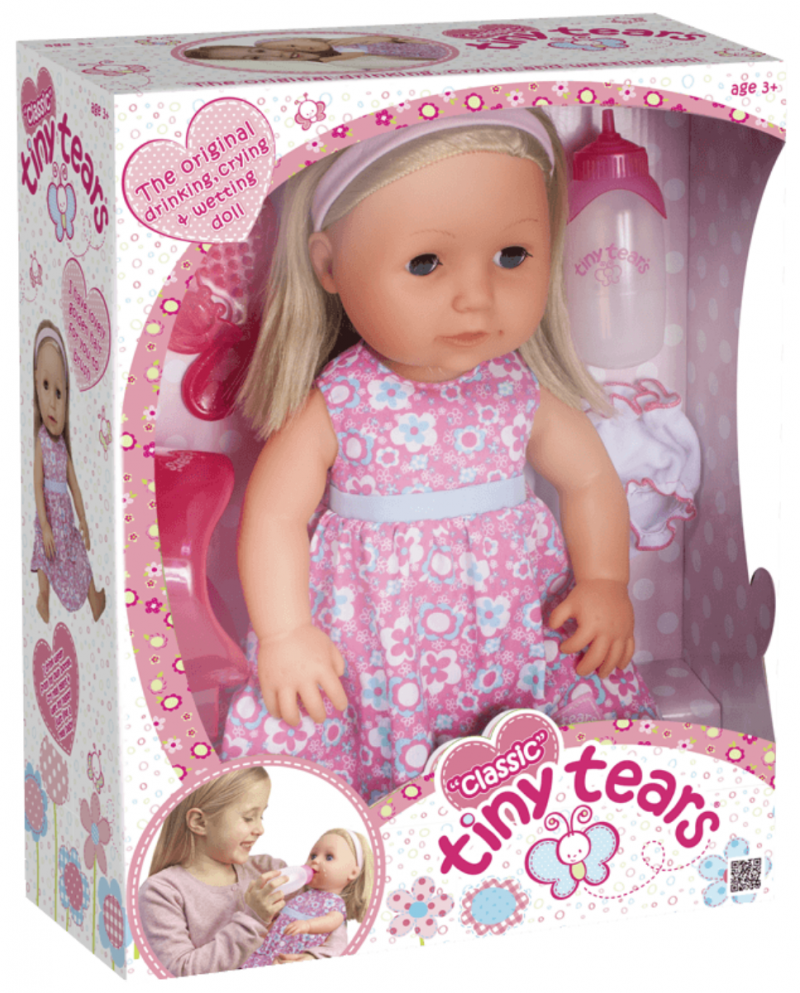 raising the rings christmas bonanza 30 days of giveaways win your presents classic tiny tears doll review dolly for girls and boys