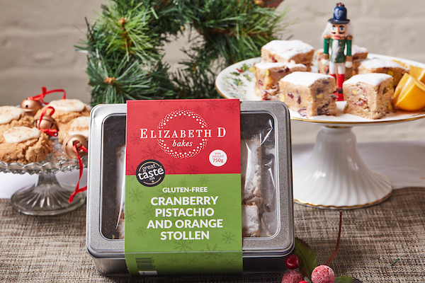 raising the rings christmas bonanza 30 days of giveaways traditional stollen gift set box gluten free from cranberry pistachio and orange elizabethdbakes