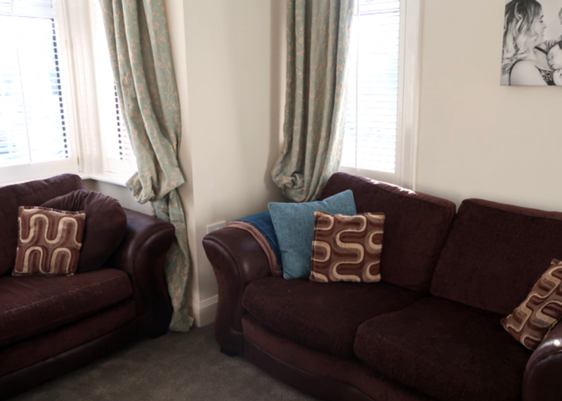 making our house a home overhauling the living room brown charm sofas DFS