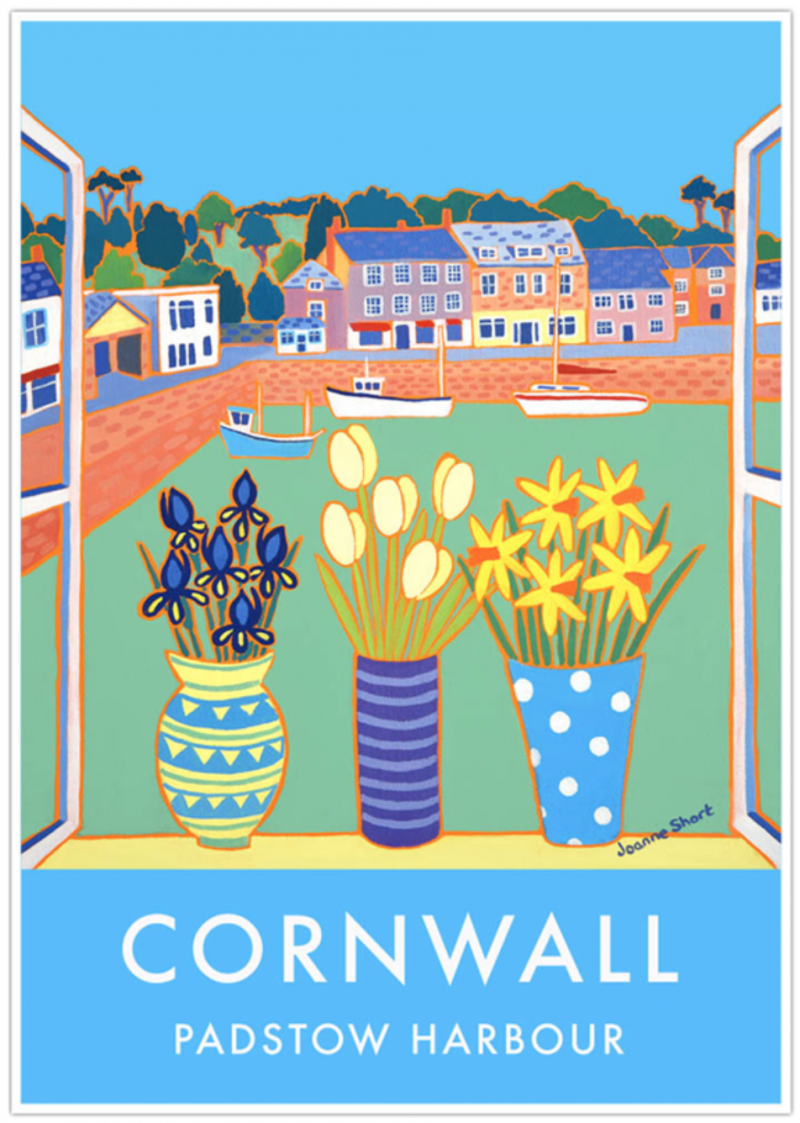 mother's day gift ideas for the interior obsessed mum the john dyer gallery padstow harbour cornwall prints and poster vintage travel