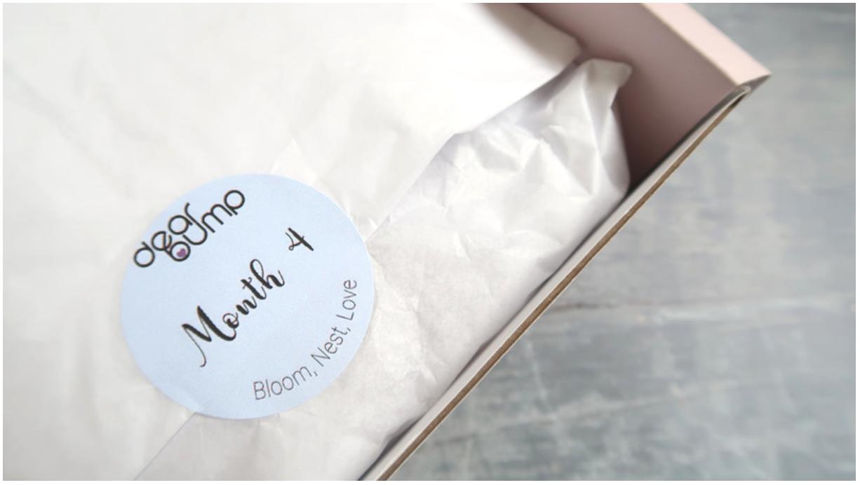 review dearbump pregnancy subscription box dear bump month 4 inside