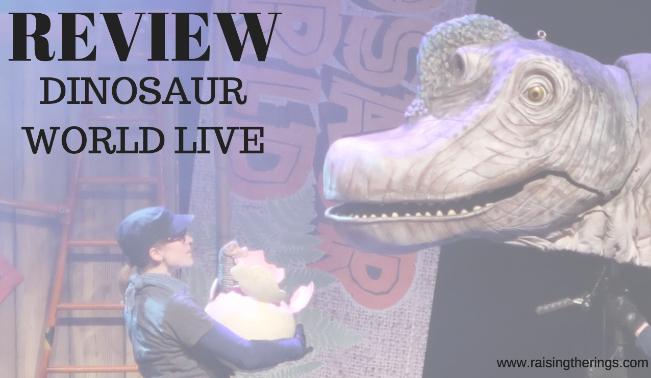 dinosaur world live review corn exchange norfolk dinosaurs show performance theatre