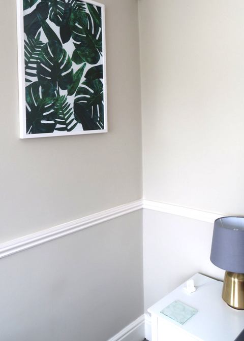 making our house a home with posterlounge prints and art review palm leaf print design poster bedroom