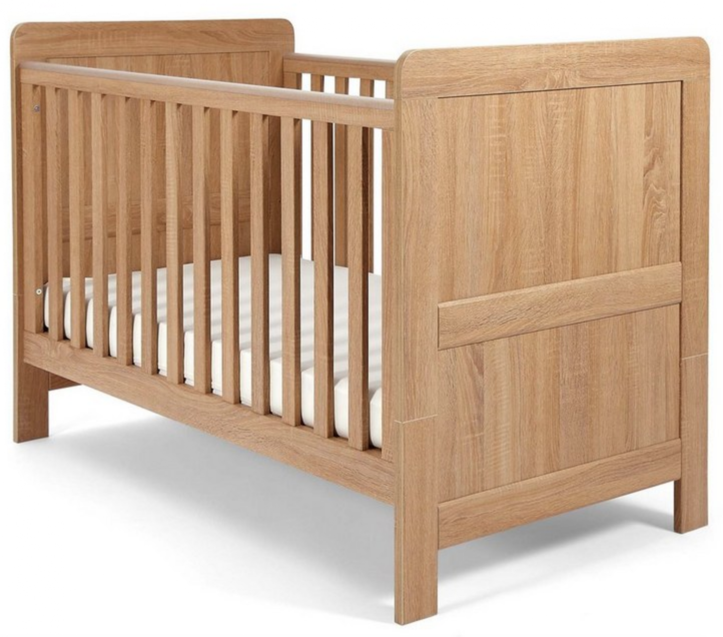 making our house a home planning the nursery mamas and papas atlas cotbed oak effect