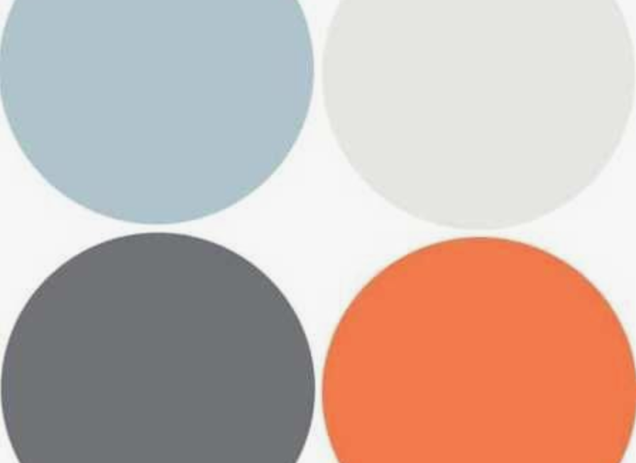 making our house a home planning the nursery colour inspiration orange grey white
