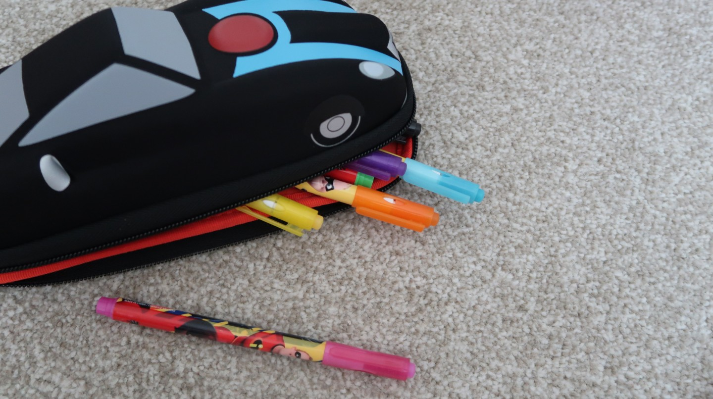 back to school with disney the incredibles 2 incredible return to year one the disney store incredibile car erasable markers