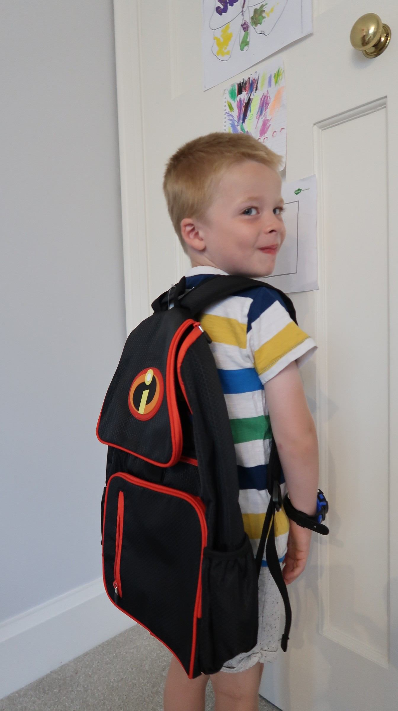back to school with disney the incredibles 2 incredible return to year one the disney store backpack school bag