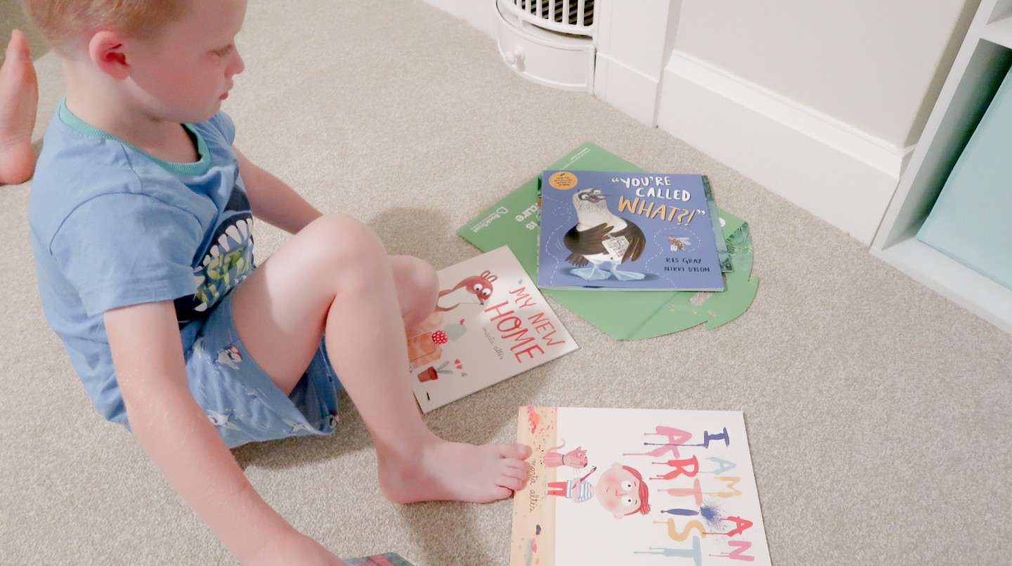 booktrust book trust time to read campaign september 2018 twitter party giveaway little monkey marta altes my new home moving house book