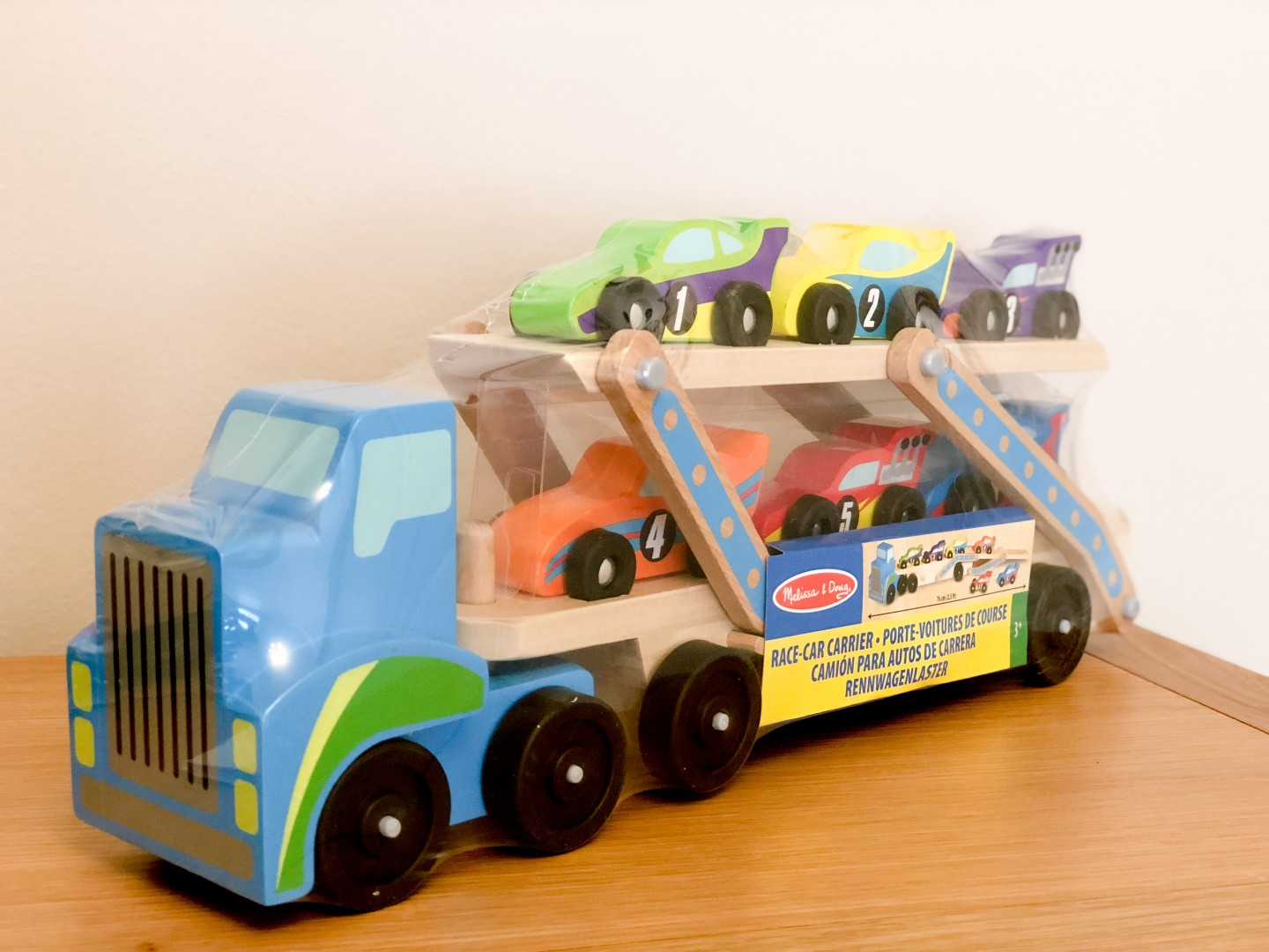 tots and tykes hamper social network solutions explore new brands melissa and doug race car carrier wooden toys piccola