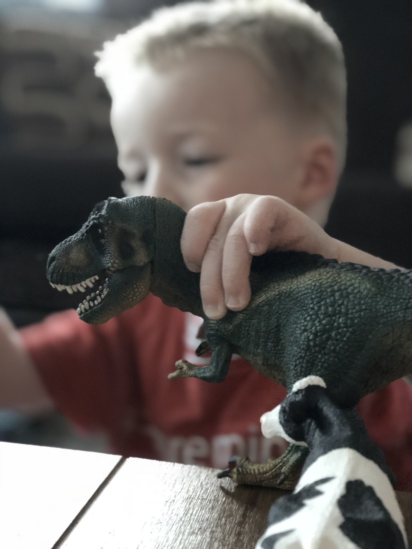 review schleich toys george at asda tyrannosaurus rex t-rex solid imaginative play creativity