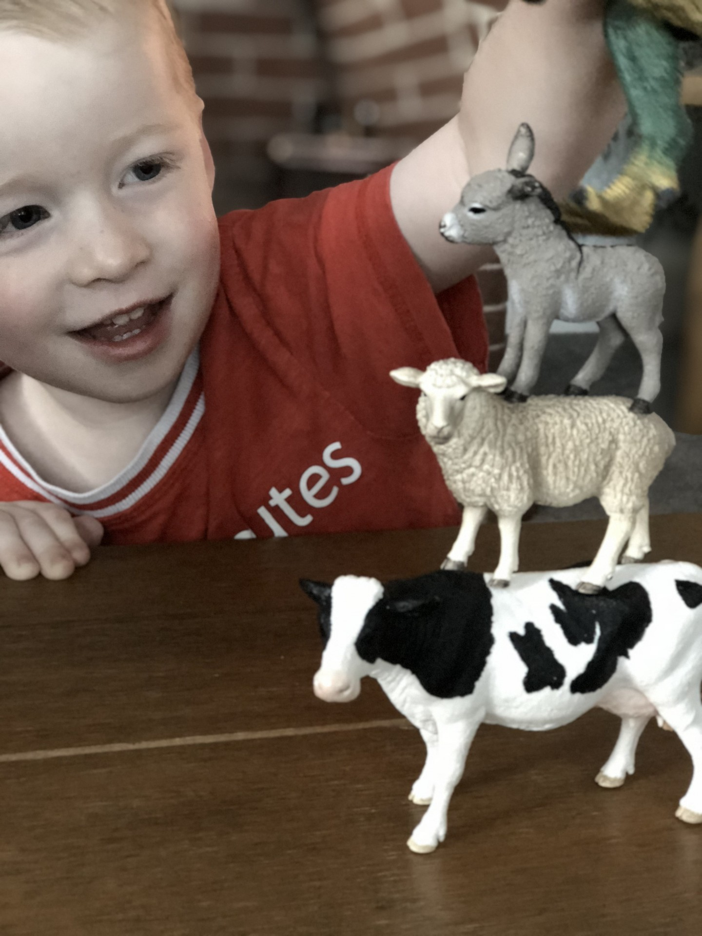 review schleich toys george at asda farm world starters set solid imaginative play creativity