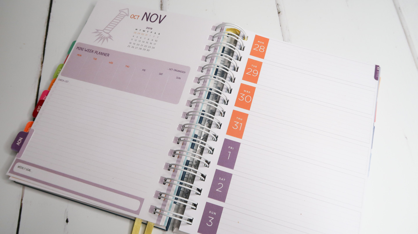 preparing for 2019 with pirongs unique planner review planning the year best planner fully customisable