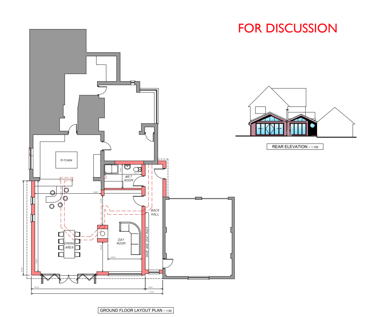 Extension Plans + Planning